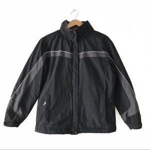 Columbia Insulated Jacket Roll-Up Hood L Black